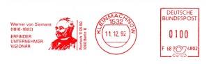 Frankiermaschine: Francotyp-Postalia, Modell EFS 3000 / NEF 300