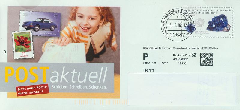 Eigenausgabe der Deutschen Post AG
